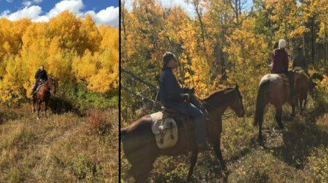 Fall – Horseback, Bear Creek Guest Ranch