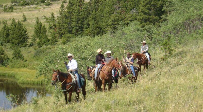 Monumental Monuments, Bear Creek Guest Ranch