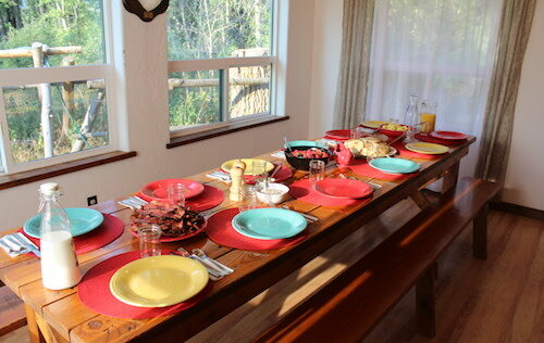 Dining, Bear Creek Guest Ranch